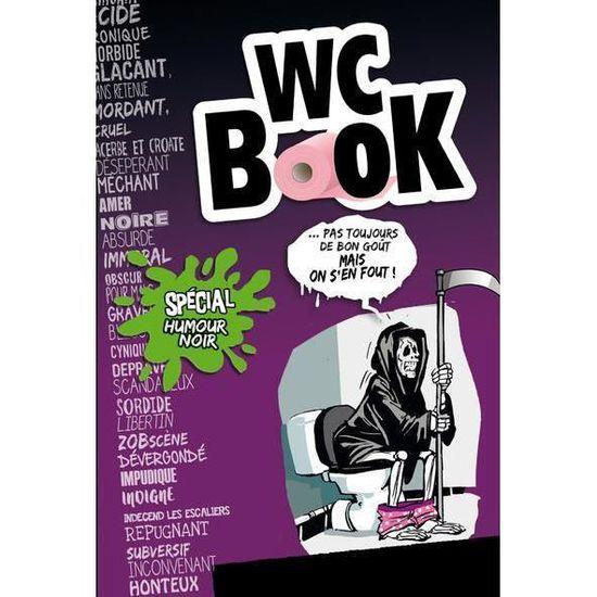 Livre Wc Book Humour Noir