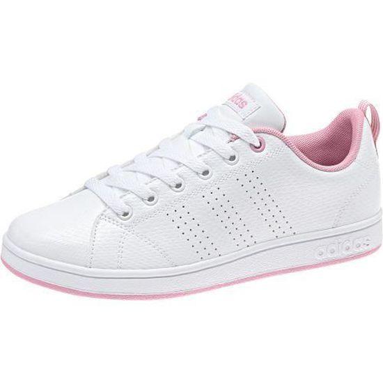 Adidas - ADIDAS NEO - baskets fille advantage clean blanche ...