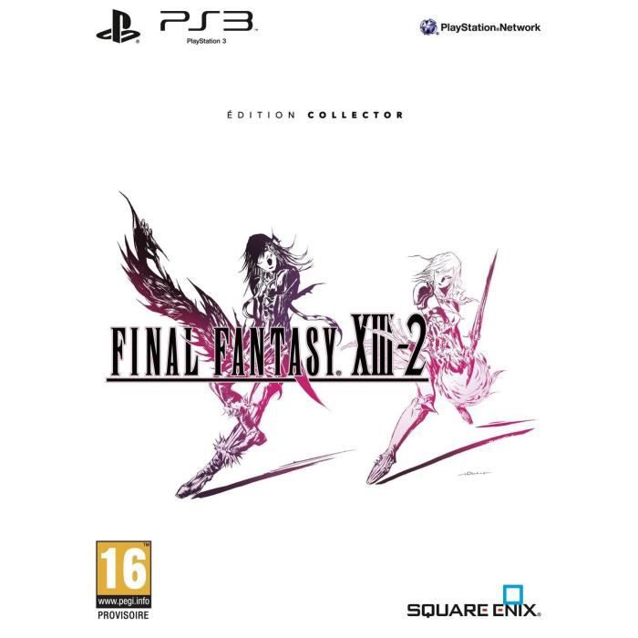 JEU PS3 FINAL FANTASY XIII-2 COLLECTOR / Jeu console PS3