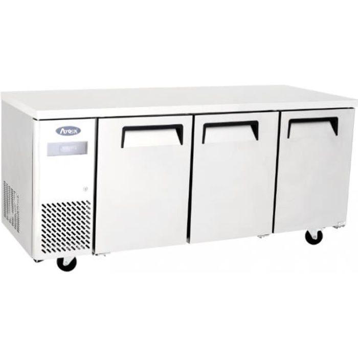 Table Réfrigérée Positive 3 Portes - 470 Litres - Atosa - R600A 3 Portes 700