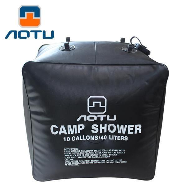 Sacs de douche solaire de camping en plein air 40L Portable Water Bag Outdoor Bath 246