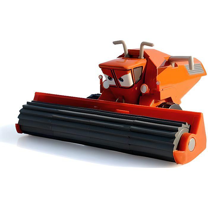 1 pièce / voiture jouet de voiture en métal moulé sous pression tracteur Frank moissonneuse-batteuse bulldozer modèle McQueen jouet