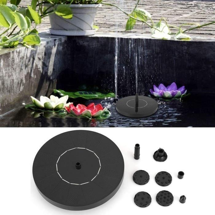 Panneau solaire fontaine pompe flottant jardin bassin d'eau bain réservoir piscine extérieure-NIM