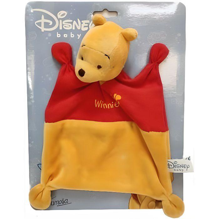 Doudou plat Winnie 19 cm