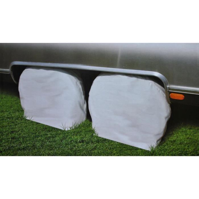 Housses de protection protège roues pneus (1 paire) 61-66cm