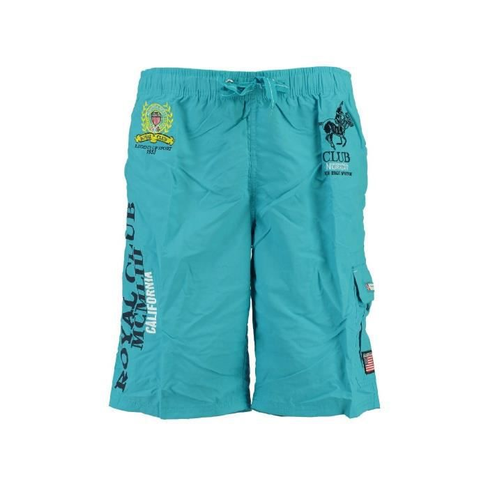 Maillot de Bain Enfant Geographical Norway Queen Turquoise