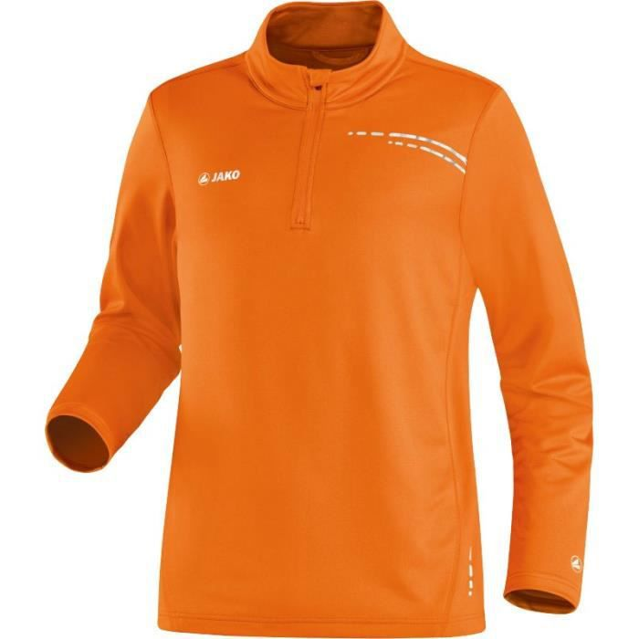 Jako - Maillot manches longues Zip Top Speed orange