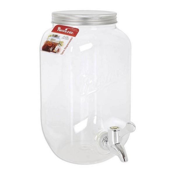 Distributeur de Boissons Privilege Transparent - capacité:8 L