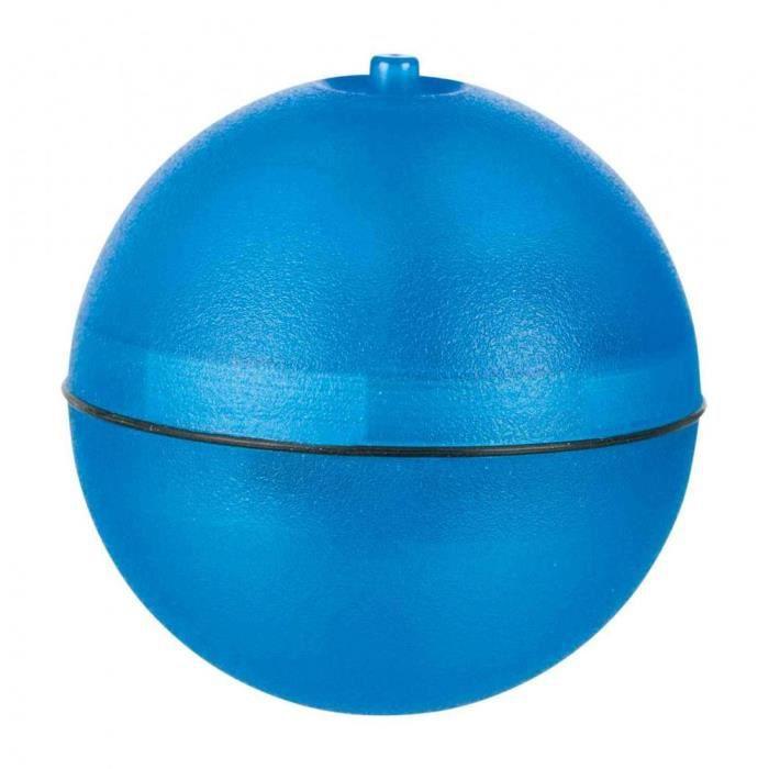 Balle rollo avec moteur et led, plastique - ø 6 cm