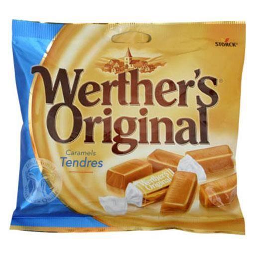 Werther's Original Caramels Tendres (lot de 8)