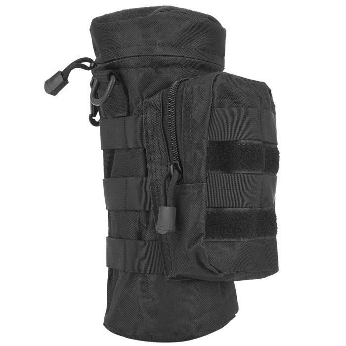 pochette pour bouteille d'eau Bottle Pouch Holder Military Molle Kettle Bag Camping Randonnée