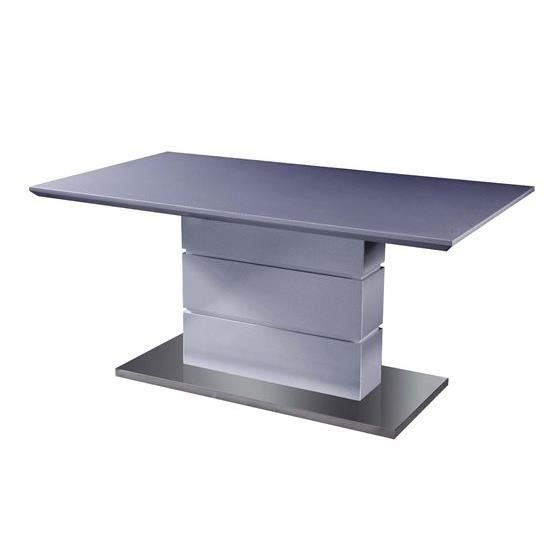 Table salle a manger design elyane gris composition for Table salle a manger design xxl