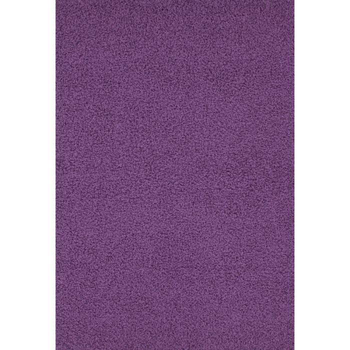 Relax tapis shaggy violet 45 mm 160x230 cm achat vente tapis cdiscount - Tapis shaggy 160x230 ...