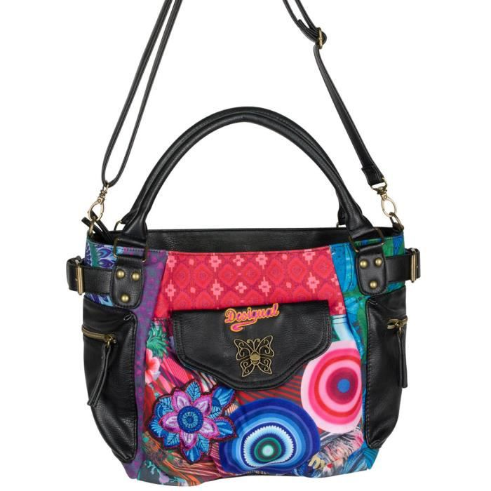 sac a main desigual mc bee diverlik achat vente sac a. Black Bedroom Furniture Sets. Home Design Ideas