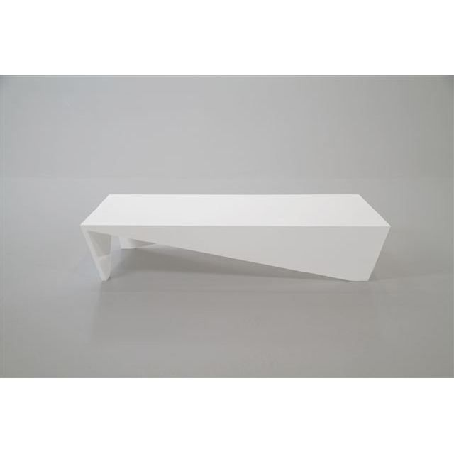 Table basse design allegro laqu e blanche achat vente table basse table b - Table basse soldes design ...