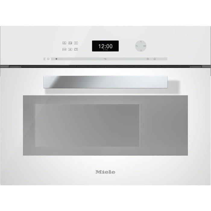 miele dg 6401 bw four vapeur encastrable achat vente four cdiscount. Black Bedroom Furniture Sets. Home Design Ideas