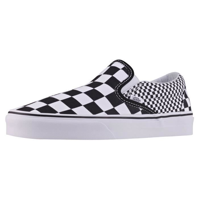 Vans Classic Slip-on Mix Checker Mixte Chaussures sans ...