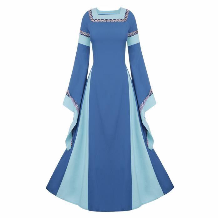 DÉGUISEMENT - PANOPLIE Femmes robe medieval Déguisements traditionnels Ha