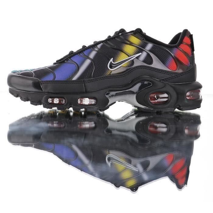 Nike Air Max TN Plus Chaussures de Course homme Multicolor Noir ...