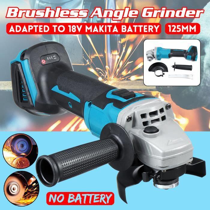 18V 800W 125mm Meuleuse d/'angle Pour Makita de broyeur angle impact sans brosse