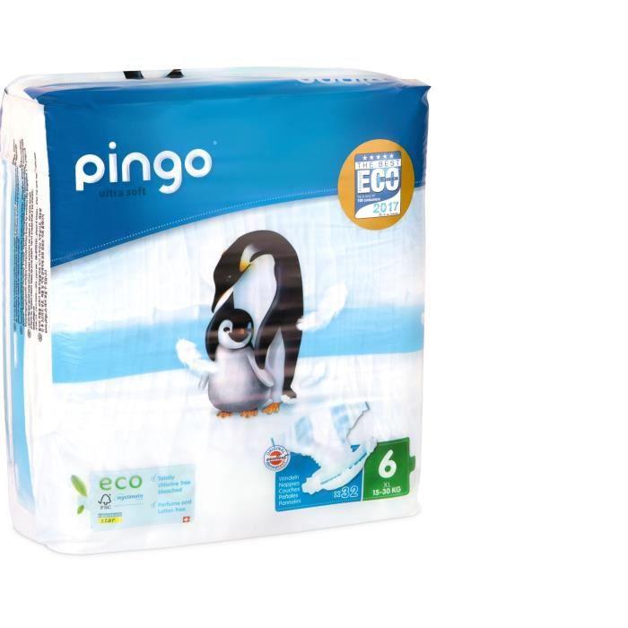 COUCHE PINGO - Couches Ecologiques taille 6 - 25 Kg et +