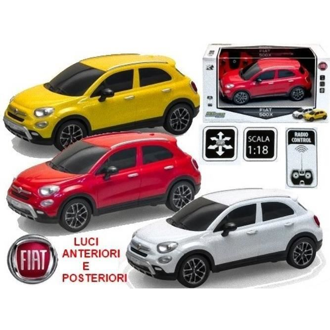 fiat 500x 1 18 telecommande reel 2118 achat vente voiture camion cdiscount. Black Bedroom Furniture Sets. Home Design Ideas