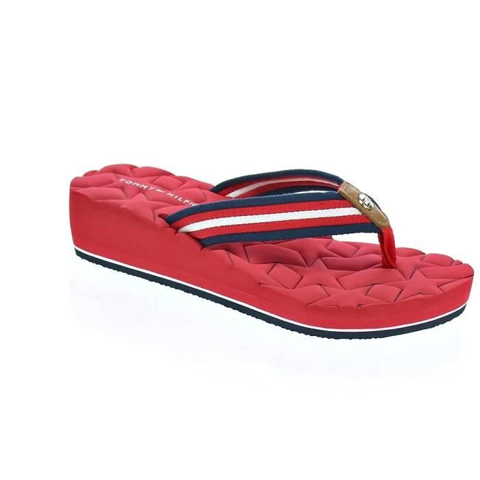 Tongs - Tommy Hilfiger Comfort MidFemmeRouge 36