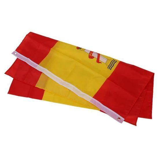 Drapeau flag Espagne 150*90cm tissus 100/% polyester neuf Espagnol