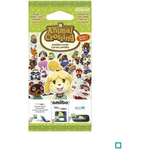 FIGURINE DE JEU Cartes Animal Crossing Happy Home Designer (paquet