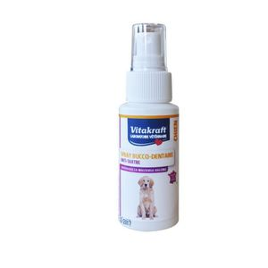SOIN POUR ANIMAUX VITAKRAFT Dentifrice en spray - 50 ml - Pour chien