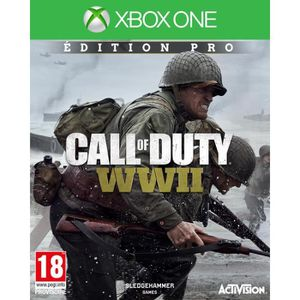 JEU XBOX ONE Call of duty World War II Edition Pro Jeu Xbox One