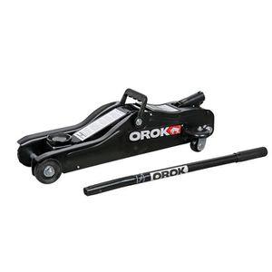 CRIC OROK Cric rouleur hydraulique 2 tonnes bas