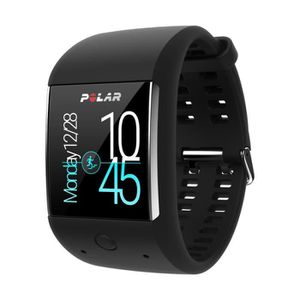 MONTRE OUTDOOR - MONTRE MARINE POLAR Montre de Sport Android Gps Cardio M600 - No