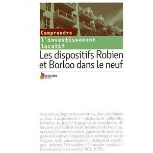 LIVRE DROIT AFFAIRES Les dispositifs Robien et Borloo dans le neuf