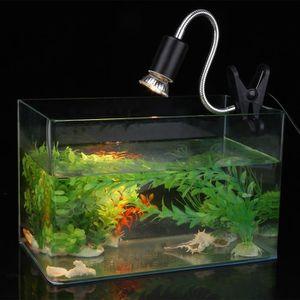 ÉCLAIRAGE Fixation de lampe de pince d'aquarium avec support