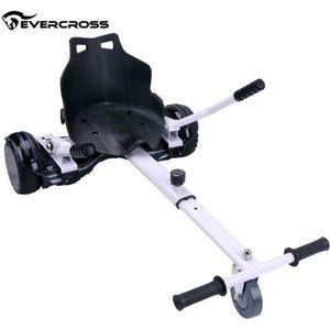 ACCESSOIRES GYROPODE - HOVERBOARD Evercross HoverKart Chaise Kart Blanc-Accessoire p