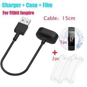 MONTRE Pour Fitbit Inspire - Inspire chargeurs USB HR + C