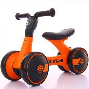 YOUPALA - TROTTEUR Version orange - Balance Bébé Equitation Trottinet