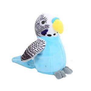 PELUCHE Mignon Mimétisme Pet Talking Parrot Répète ce que