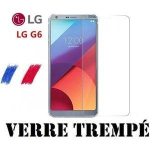 FILM PROTECT. TÉLÉPHONE Pour LG G6 - Film de Protection écran en Verre Tre