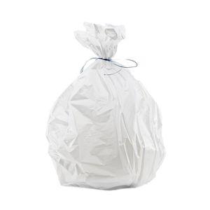 SAC POUBELLE Sacs poubelles blancs 10L HD (20 rouleaux)