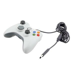 MANETTE JEUX VIDÉO Manette Filaire pour Xbox 360, Contrôleur de jeu