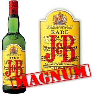 WHISKY BOURBON SCOTCH J & B  Magnum 1.5 litres 40°