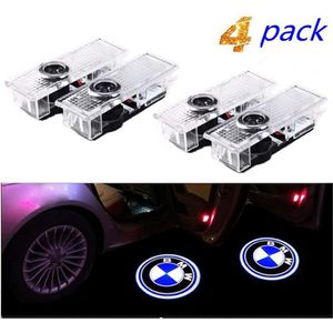 HU Fun life 2 Pack Porte De Voiture Lumi/ère Porte Lumi/ère Ombre De Porte LED Logo 3D Laser Lumi/ère Projecteur Bienvenue Lumi/ère