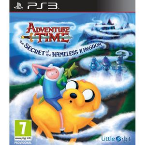 JEU PS3 Adventure Time: The Secret of the Nameless Kingdom