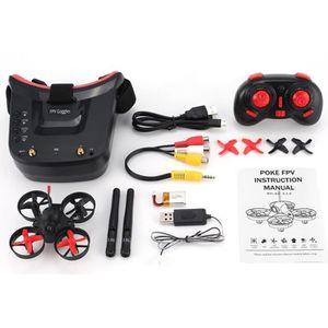 DRONE 5.8G 40CH FPV caméra Mini RC Racing MINI Drone Qua