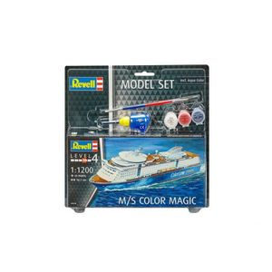 MAQUETTE DE BATEAU Maquette Bateau : Model Set : M/S Color Magic aill