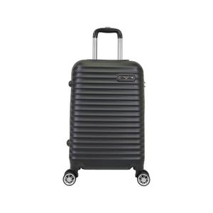VALISE - BAGAGE Valise Taille Moyenne 4 roues 65cm Rigide Noir - C