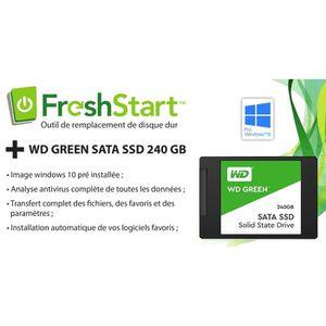 DISQUE DUR SSD Kit FRESHSTARTSSD pour PC (sorti sous Win 7): Disq