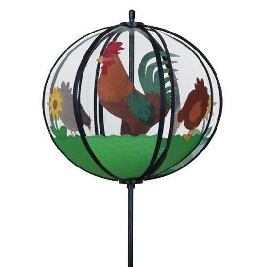 Girouette Coq, Décoration de jardin - Achat / Vente ...